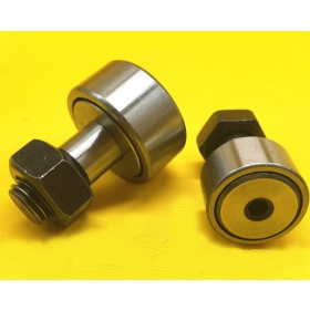 Roller wheels with bearings